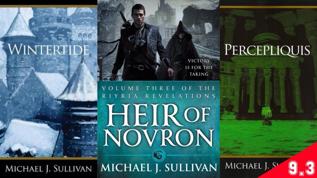 The Riyria Revelations, #5-6 - Heir of Novron (BOOK REVIEW)