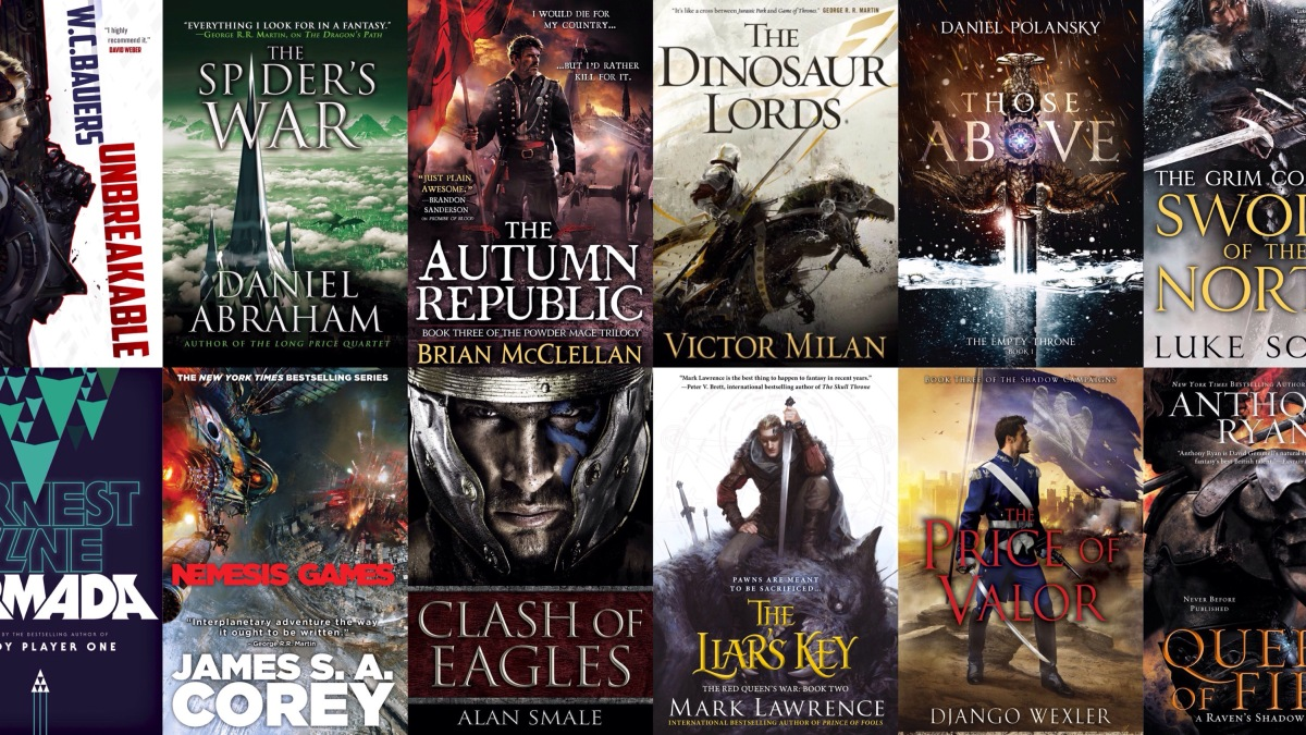 The 25 Most Anticipated Science Fiction & Fantasy Books of 2015