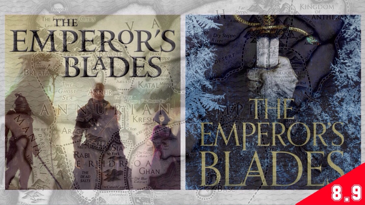 Chronicle of the Unhewn Throne, #1: The Emperor's Blades (BOOK REVIEW)