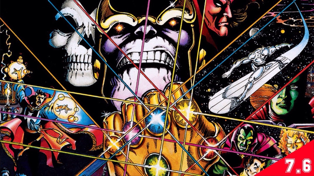 Infinity Gauntlet (GRAPHIC NOVEL REVIEW)