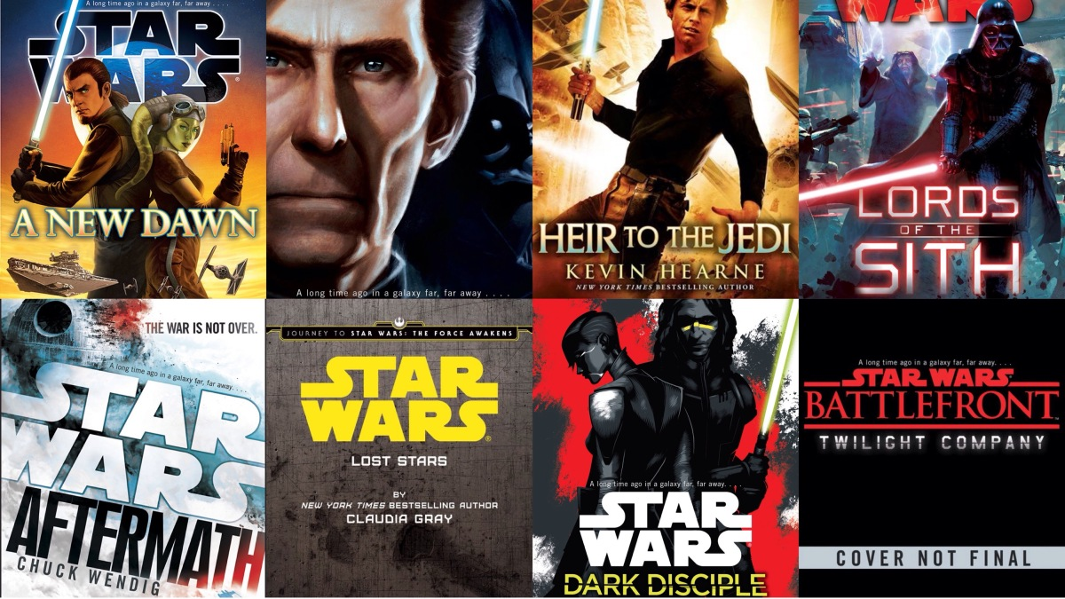 Timeline and List of All Canon Star Wars Novels