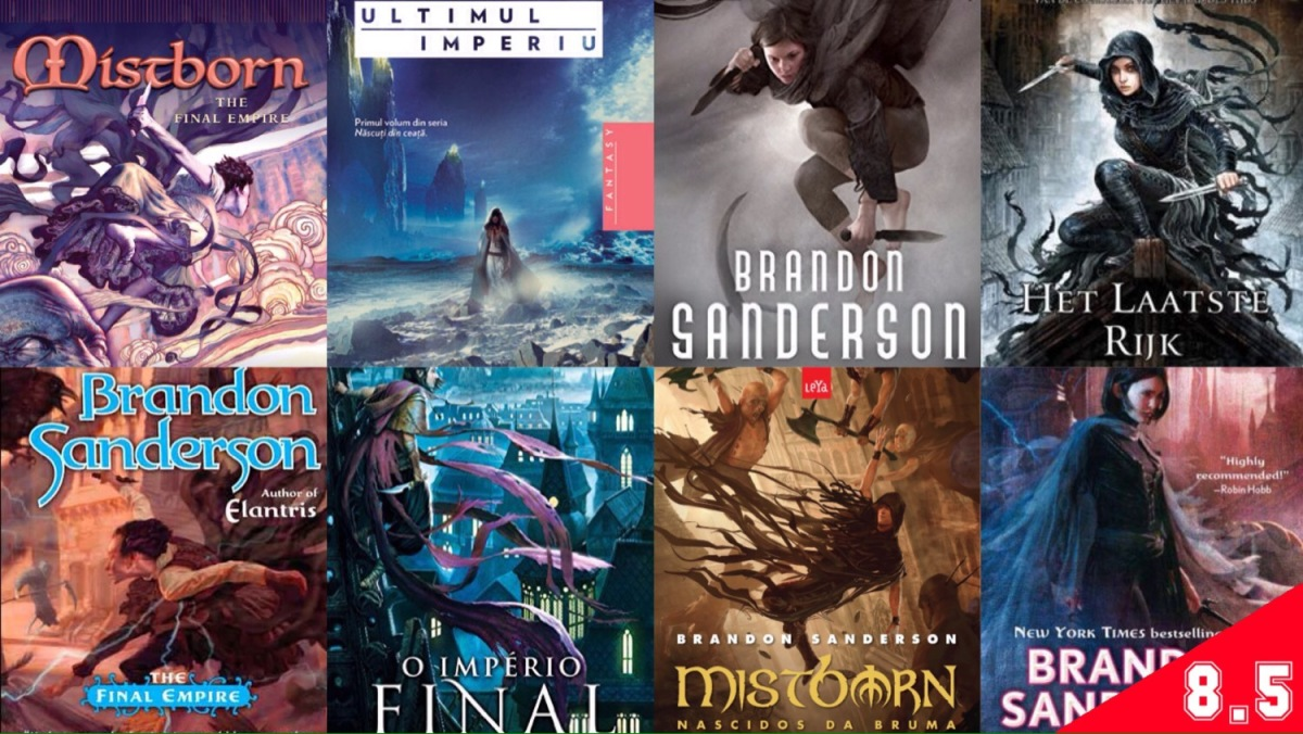 Mistborn, #1: The Final Empire (BOOK REVIEW)