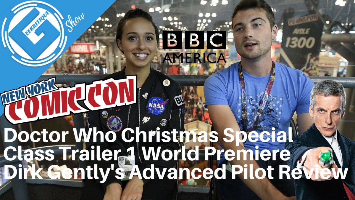 We saw Doctor Who Christmas footage, the Class trailer, and the very ...