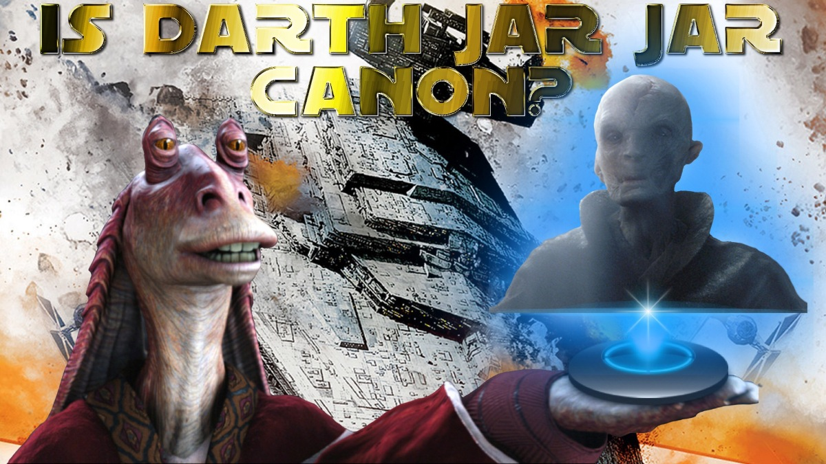 Wait, Did Jar Jar Binks Create Supreme Leader Snoke? - New Facts Emerge